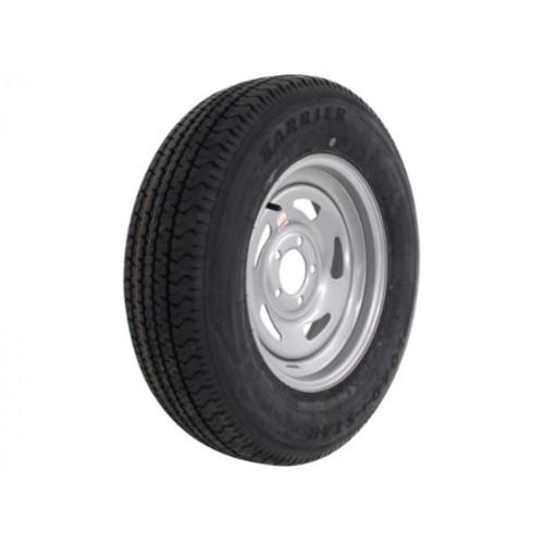 Kenda KR03 ST255/75R15 Tire with Mod Steel Silver Wheel