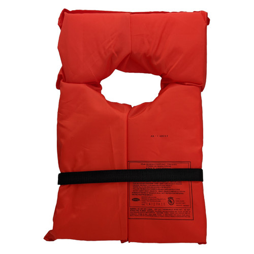 Adult Universal Type II Life Vest Orange