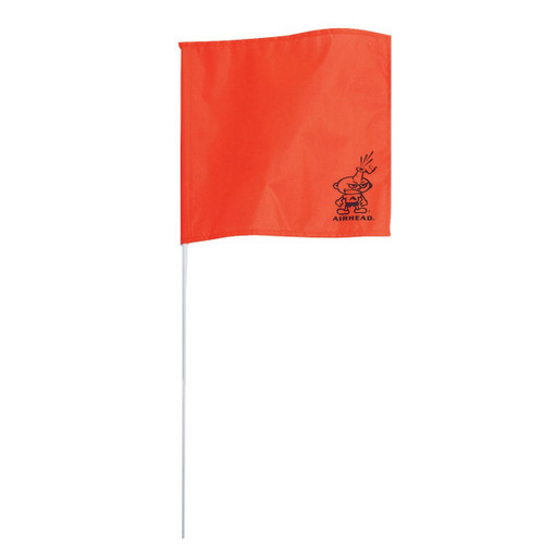 "Kwik Tek Ski Down Flag 30"" Orange Nylon"