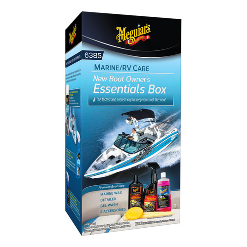 Meguiar's Flagship New Boat Owner's Kit
