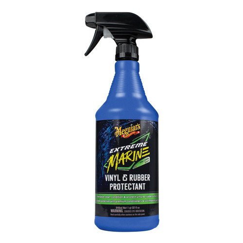 Meguiar's Extreme Marine Vinyl and Rubber Protectant 32 Oz