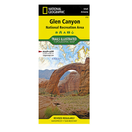 National Geographic Glen Canyon Map