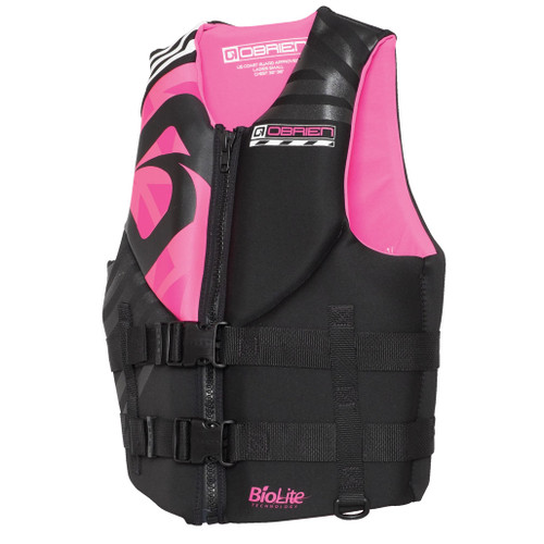 O'Brien Ladies Empress Neoprene Life Jacket Front