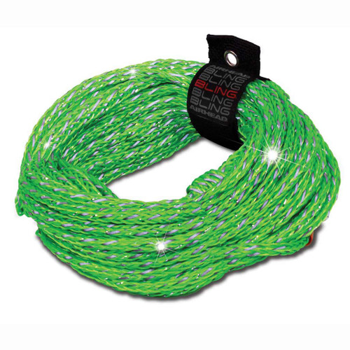 Airhead Bling 2 Rider Tube Rope Green