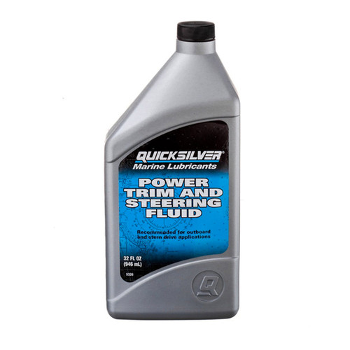 Quicksilver Power Trim and Steering Fluid Quart