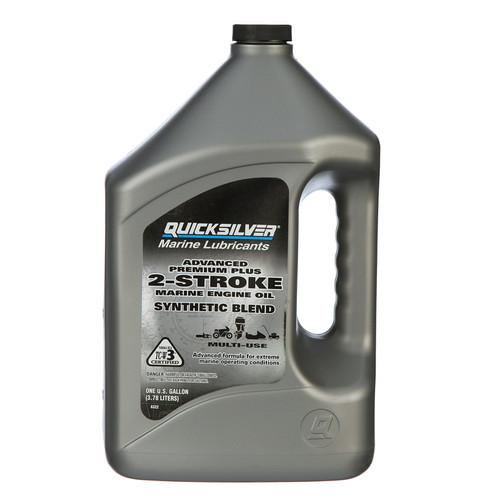 Quicksilver Premium Plus 2-Stroke Marine Engine Oil - Gallon