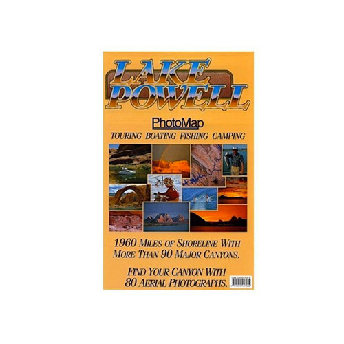 Lake Powell Photo Map