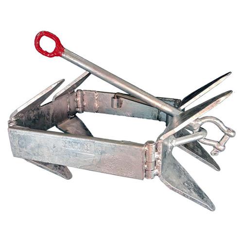 Seachoice Fold-And-Hold Galvanized Anchor