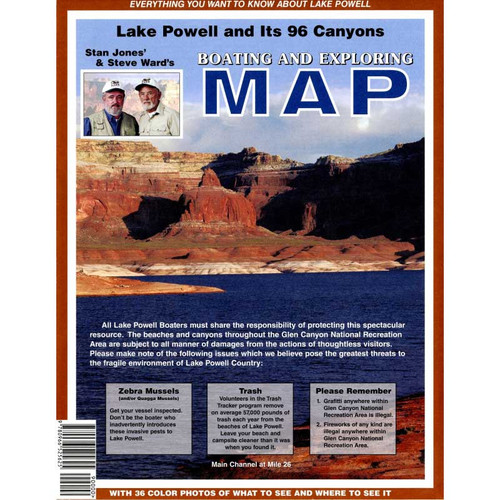 Stan Jones Lake Powell Map