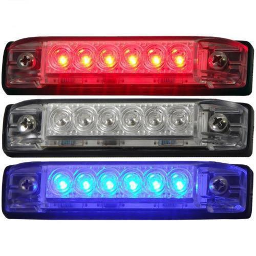 "Th Marine Slim Line LED Utility Strip Lights 4"""
