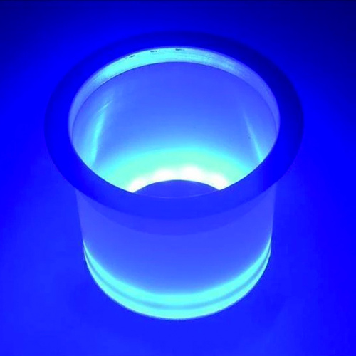 TH Marine LED Lighted Stainless Steel Rim Drink Holder