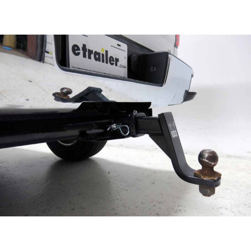 Tow Ready Pin and Clip For Class III, IV and V Trailer Hitch Receiver installed