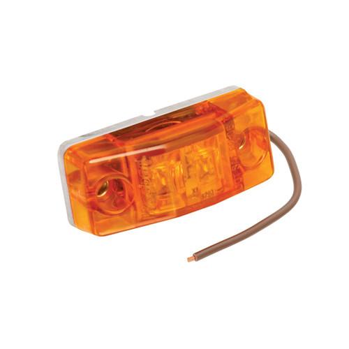Wesbar LED Rectangular Amber Clearance Light