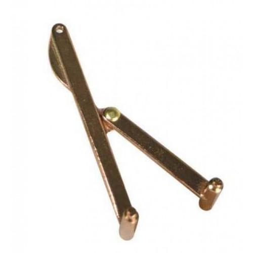 Whitecap Adjustable Bronze Deck Plate Key