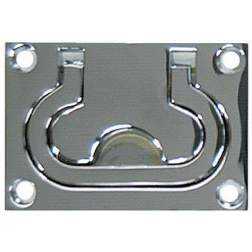 White Cap Flush Pull Ring