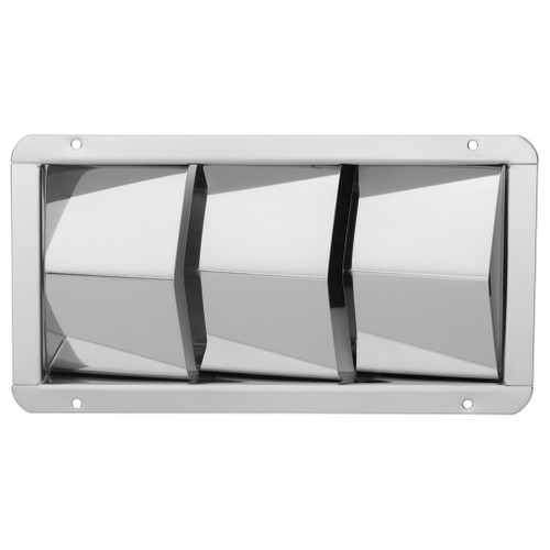 White Cap 3 Louvered Ventilator
