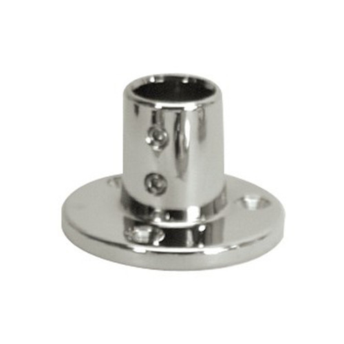 White Cap Stainless Steel 90 degree Base
