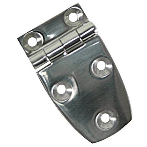 White Cap HD Stamped Steel Hinge