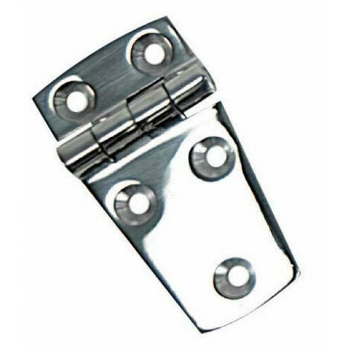 Whitecap Shortside Door Hinge SS 2.25""