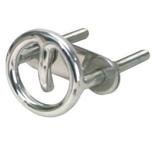 White Cap Stainless Steel Tow Ring