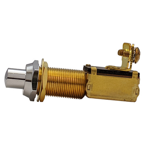 Whitecap Push Button Brass Switch