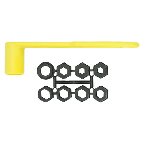 """Attwood Prop Wrench Set with Socket Sizes from 17/32"""" to 1 1/4"""" Product Image"""