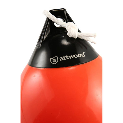 "Attwood Heavy Duty 9"" Orange Anchor Buoy Side Image"