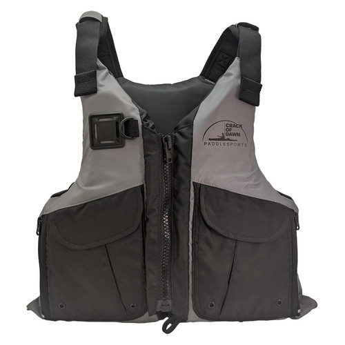 Crack of Dawn Ultimate Paddle Life Jacket Front
