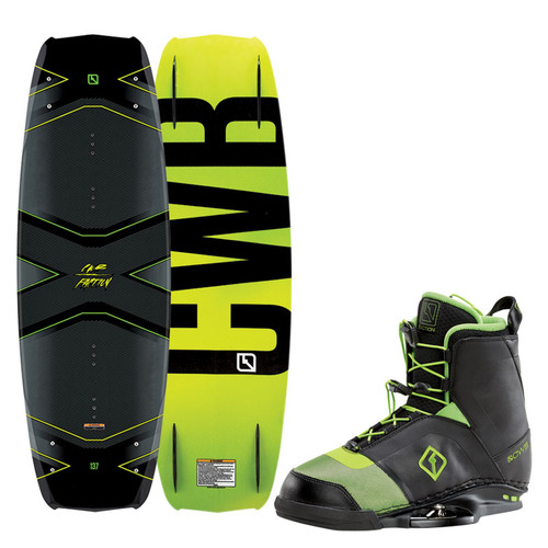 2016 CWB Faction Wakeboard With Faction Boots