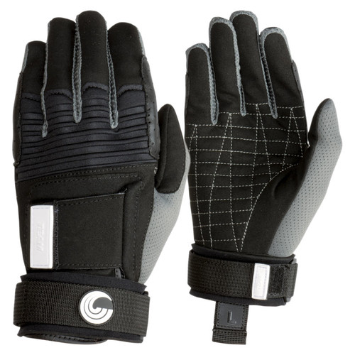 Connelly Men's Team Waterski Gloves Front and Back view