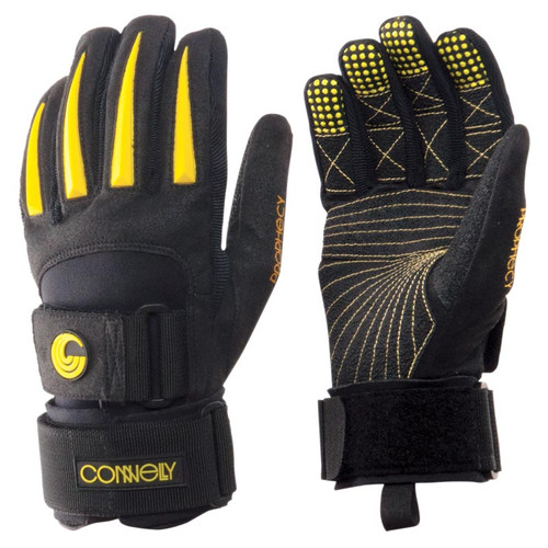 Connelly Men's Team Waterski Gloves Yellow/Black