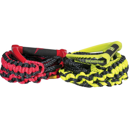 Proline LG Surf Rope 20' w/3 - 3' Sections Group Red and Volt