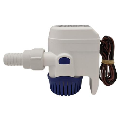 Rule-Mate 500 GPH Bilge Pump Fully Automatic 12 Volt