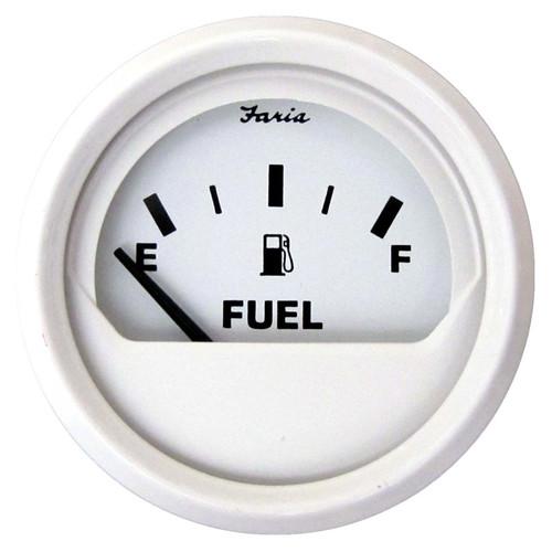 "Faria Fuel Gauge Dress White 2"""