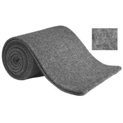 "Foss Bunk Carpet  14"" Wide Sold by the Foot Gray"