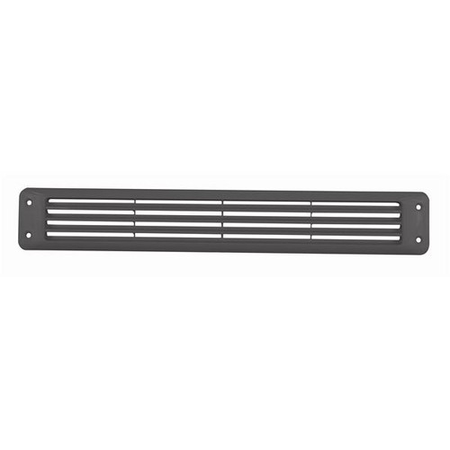Attwood Flush Louvered Vent Black ABS