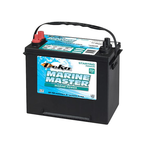 Deka Sealed Starting Battery 1000MCA/875CCA