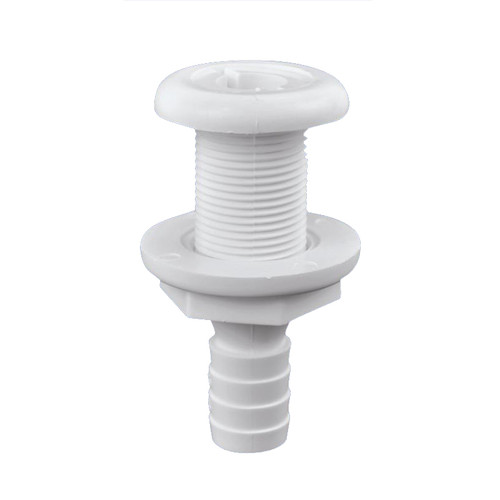 Attwood Thru-Hull Connector White plastic