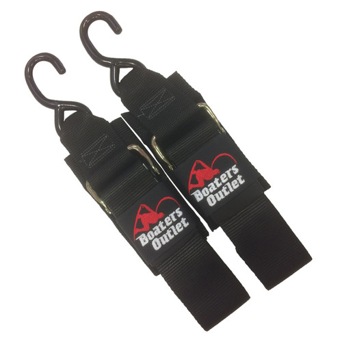 Boater's Outlet Boat Transom Tie Down Straps 4'