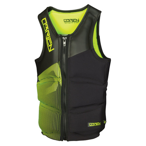 O'Brien Men's Team Front Zip NCGA Impact Vest Green/Black 2015