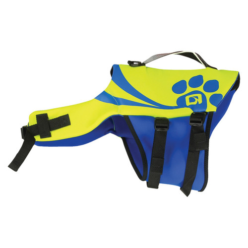 O'Brien Pet Vest Yellow/Blue
