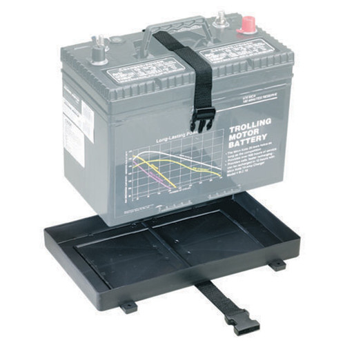 Attwood Battery Tray with Strap 24 and 27 Series