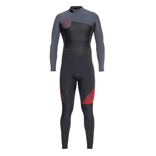 Quicksilver 3/2mm Syncro Series Men Red/Black Wetsuit