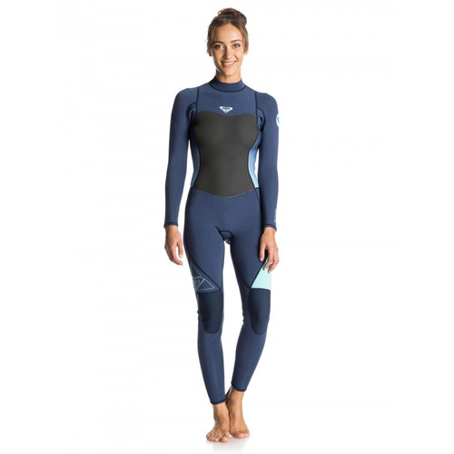 Roxy 3/2mm Syncro Series Womens Blue Wetsuit