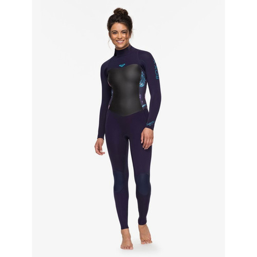 Roxy 4/3mm Syncro Series Womens Blue Wetsuit