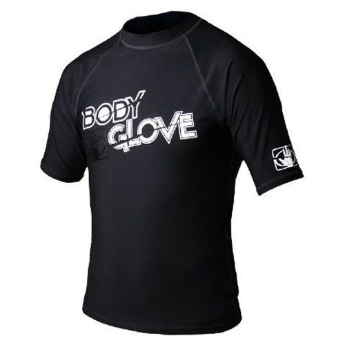 Body Glove Basic Youth Short Sleeve Rashguard Black
