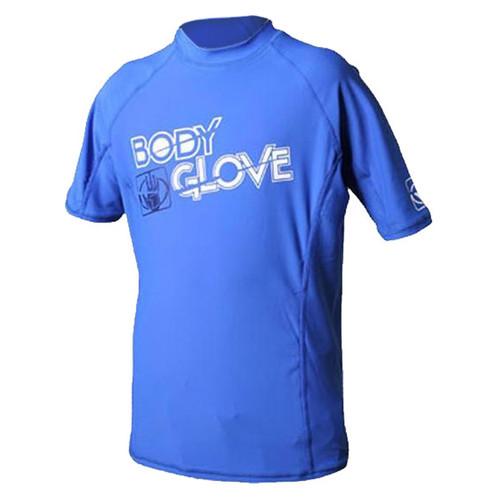 Body Glove Basic Youth Short Sleeve Rashguard Royal