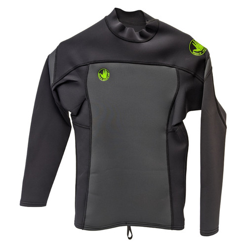 Body Glove Super Rover Neoprene Long Sleeve Top 1mm Black