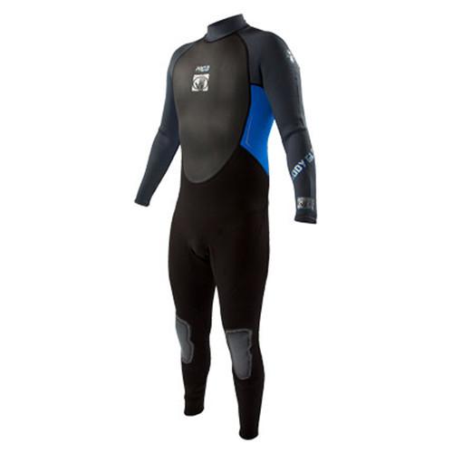 Body Glove Men's Pro 3 Full Wetsuit 3/2mm Black/Blue