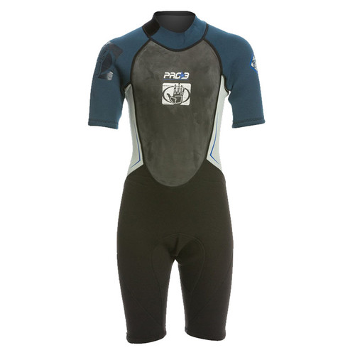 Body Glove Junior Pro 3 Springsuit Wetsuit 2/1mm Blue/Gray